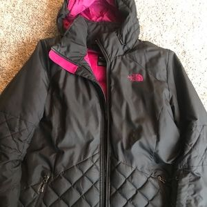 Women's Northface jacket. Long. Size XL